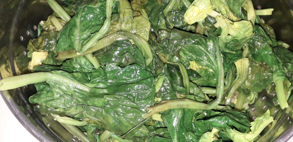 Σπανακοπρασόρυζο - 6
