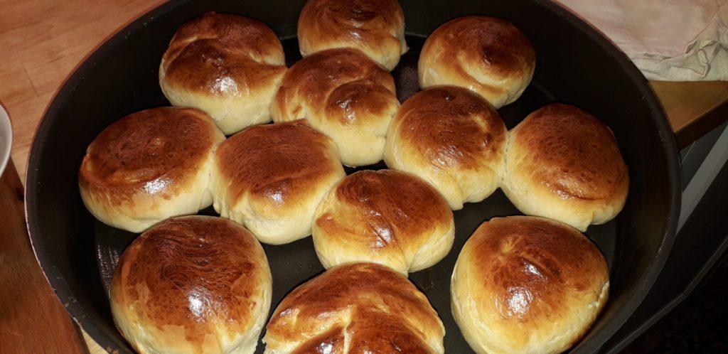 Αφράτα ψωμάκια της Ρούλας - 33