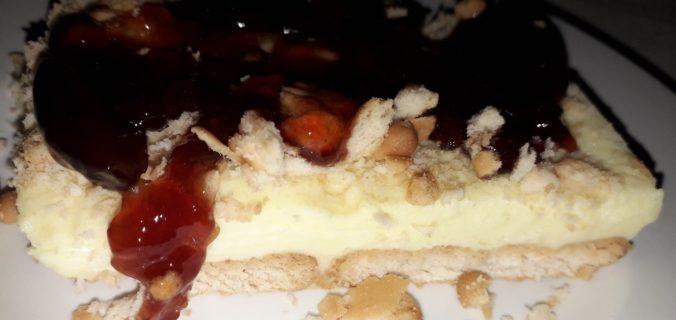 Μπισκοτένιο γλυκό με κρέμα γιαουρτιού - 37