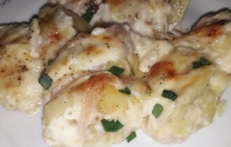 Πατάτες ογκρατέν/ - ηχωμαγειρέματα