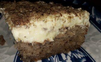 αφράτη καρυδόπιτα με κρέμα βελούδο - 112 - ηχωμαγειρέματα