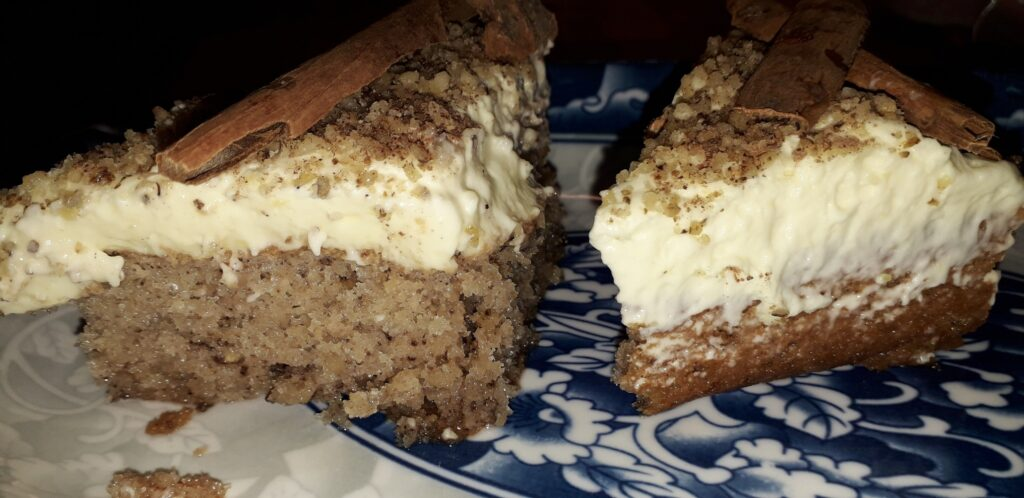 αφράτη καρυδόπιτα με κρέμα βελούδο - 114