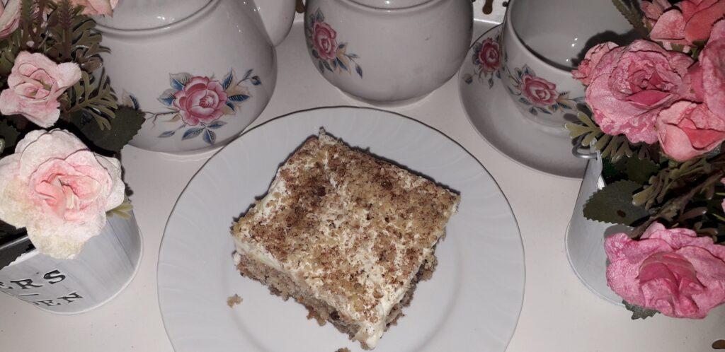αφράτη καρυδόπιτα με κρέμα βελούδο - 119