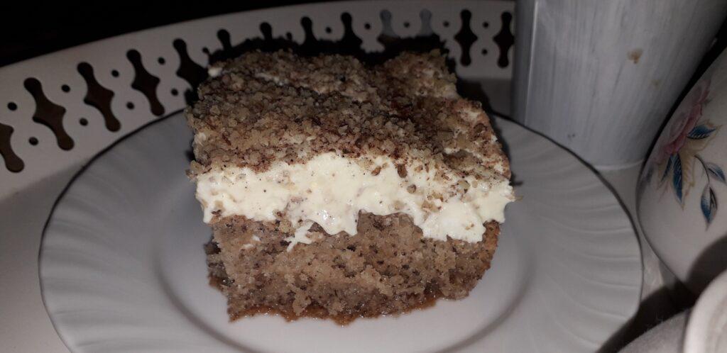 αφράτη καρυδόπιτα με κρέμα βελούδο - 120