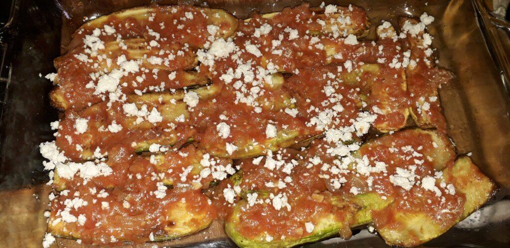 Κολοκυθάκια με τυρί και ντομάτα στον φούρνο - 27