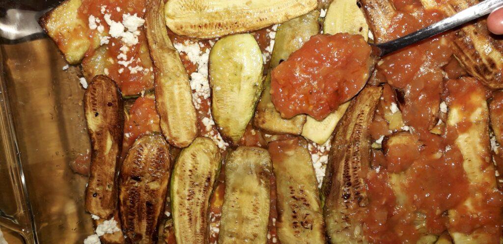 Κολοκυθάκια με τυρί και ντομάτα στον φούρνο - 29