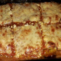 Κολοκυθάκια με τυρί και ντομάτα στον φούρνο