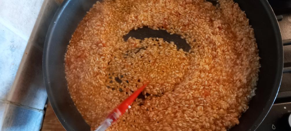μοναστηριακό ριζότο με γαρίδες - 20