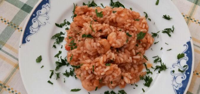 ριζότο με γαρίδες - ηχωμαγειρέματα