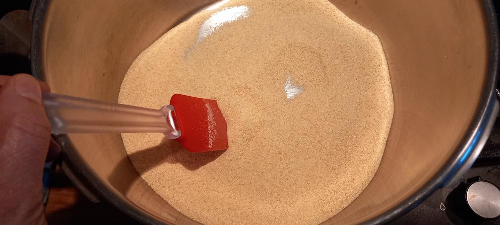 χαλβάς με κρέμα νηστίσιμος - 5