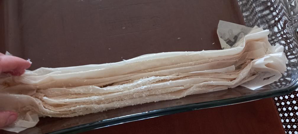 μπουγάτσα σιροπιαστή - γλυκό ακορντεόν - 14