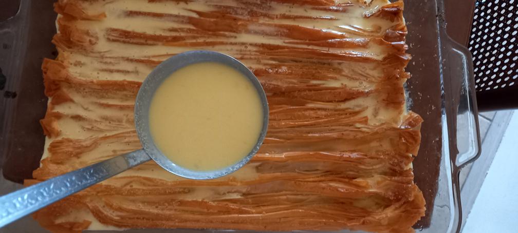 μπουγάτσα σιροπιαστή - γλυκό ακορντεόν - 28