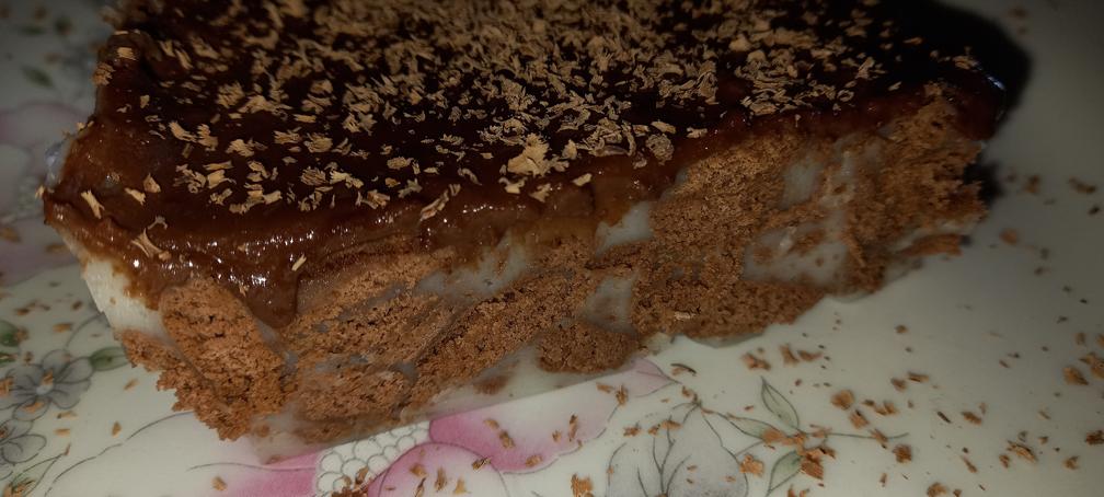 εύκολο γλυκό ψυγείου με μπισκότα σοκολάτας - 43